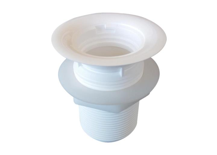 Falcon | SKV103 Drain Adaptor (Long) 40mm Diam. | Waterless Cartridges | Relcross Ltd